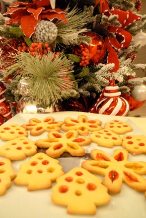 Christmas Jewel Cookies