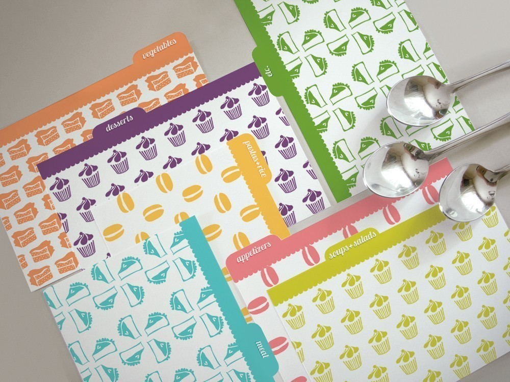 Up Close And Personal With Recipe Cards |