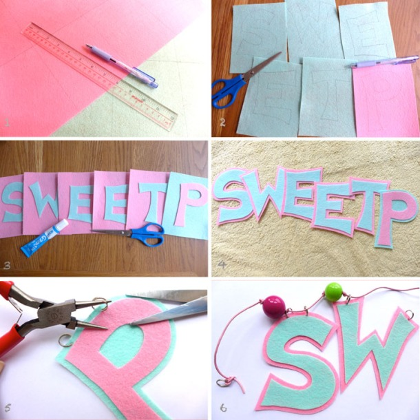 Felt Name Garland Procedures 29APR2013