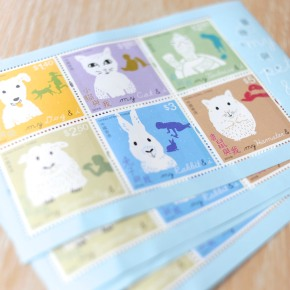 'My Pet and I' Limited EditionStamps