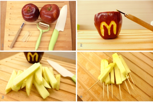 Apple Fries Procedures
