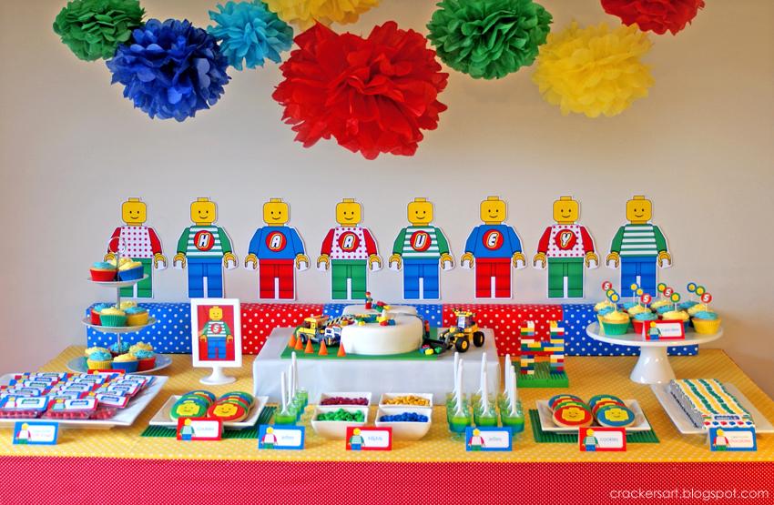 CrackersArt LEGO Party Theme