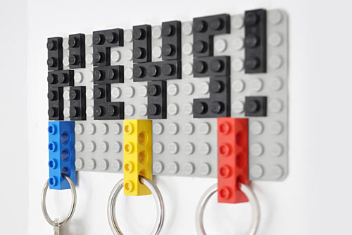 LEGO-Key-holder-rack-1
