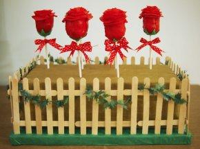 Chocolate Rose Cake PopGarden
