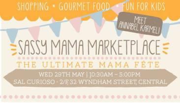 Sassy Mama Marketplace Flyer