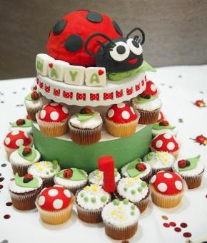 3D Ladybug CakeTechniques