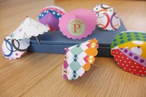 D.I.Y. Mini PaperUmbrellas