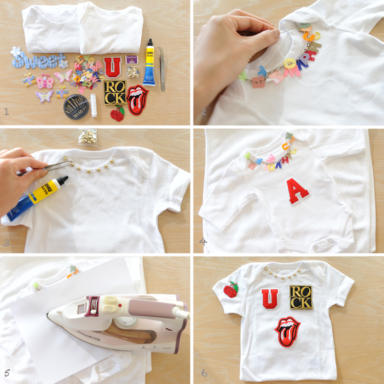 Baby Shower Idea Onesies Decorating