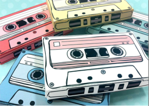 Casette Tape USB Party Favors