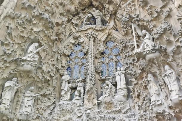 Gaudi - Facade of Sagrada Familia