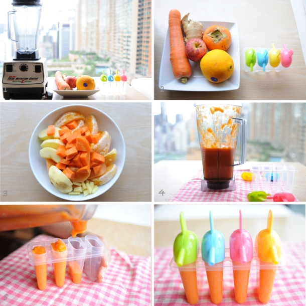 Healthy Summer Ice Pops