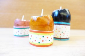 Egg Shell Candles & Toilet Paper RollHolders
