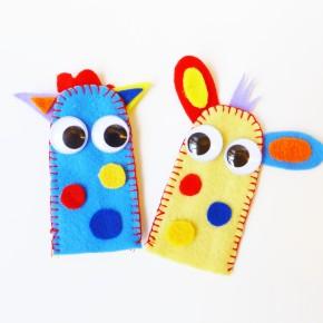 Little Monsters FingerPuppets