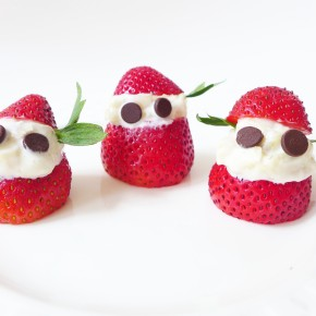 Happy Strawberries, Banana & Yogurt Fellas