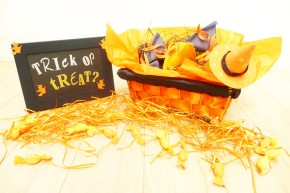 D.I.Y. Halloween Candies Basket x Sassy Mama