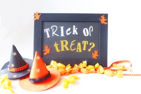 SweetPrints: Halloween Signage & Paper WitchHats