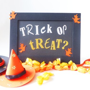 SweetPrints: Halloween Signage & Paper Witch Hats
