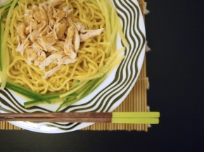 Hiyashi Chuka (Cold NoodleSalad)