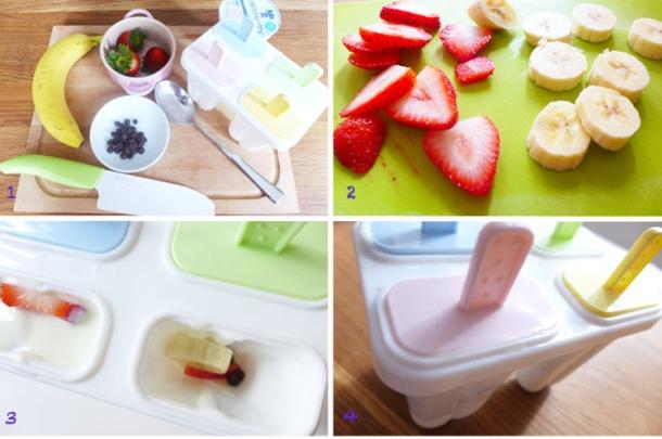 Strawberries Yogurt Procedures 11SEP2013