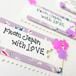 With Love from Japan – 3D Gift Tags