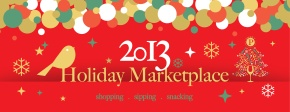 Don't Miss SweetP's 2013 Holiday Marketplace!