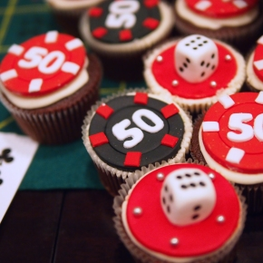 Edible Poker Chips and Dice