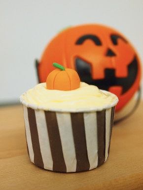 Halloween Pumpkin Fondant Topper