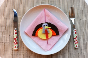 Gobble Gobble Table Setting
