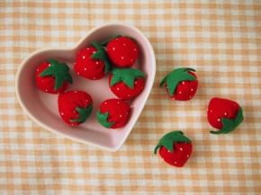 Counting Your Felt Strawberries