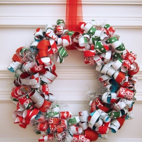 SweetPrints X'mas Paper Wreath