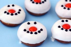 Heartwarming Edible Snowman