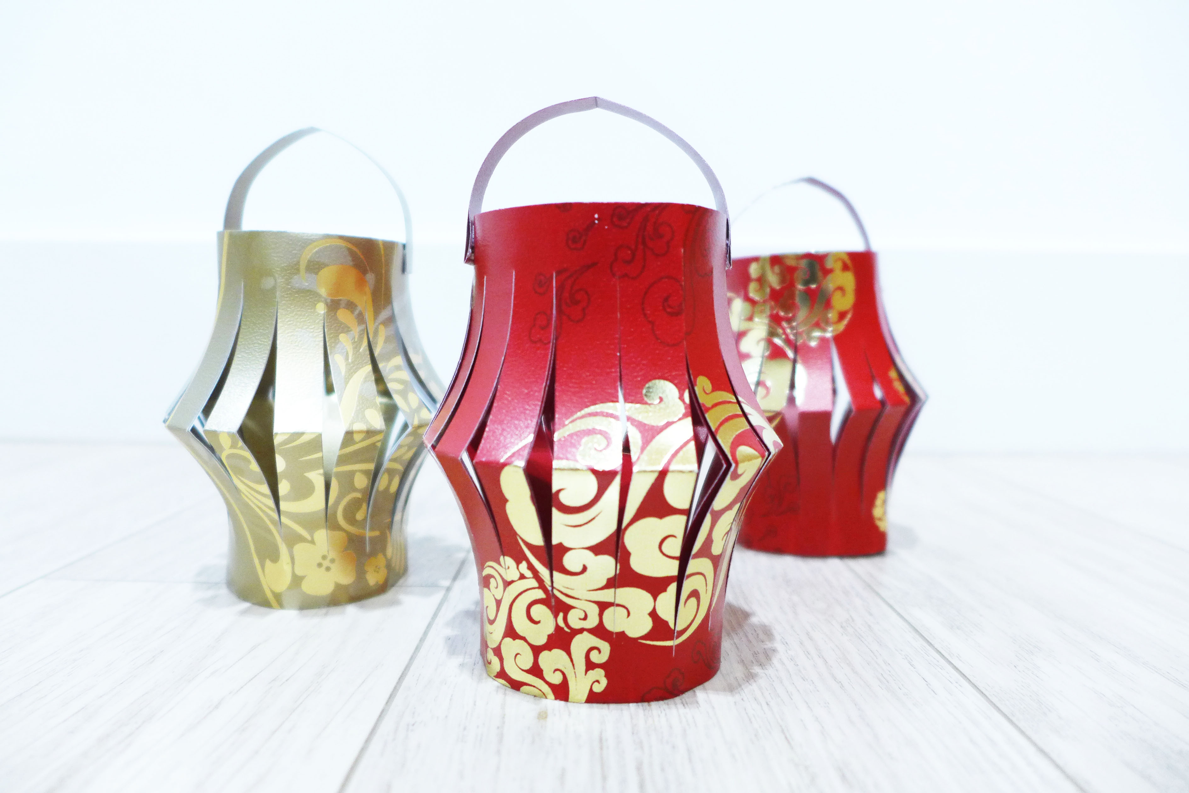 DIY Chinese New Year Lai See Packet Lanterns