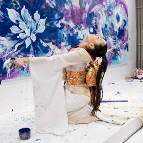Dancing Life Painting Artist, SaoriKanda