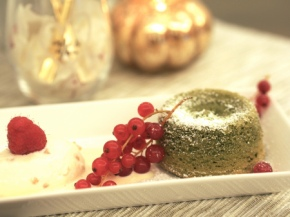 Cooked For You: Matcha Green Tea and White Chocolate Molten LavaCake