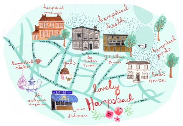 hampstead map