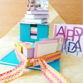 SweetPrints Anniversary Edition: 3-Layer Stationeries Cake
