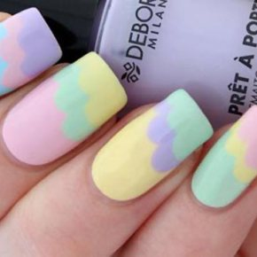 Pretty in Pastel Nails