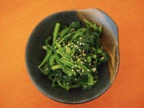 Seasoned Korean SpinachSalad