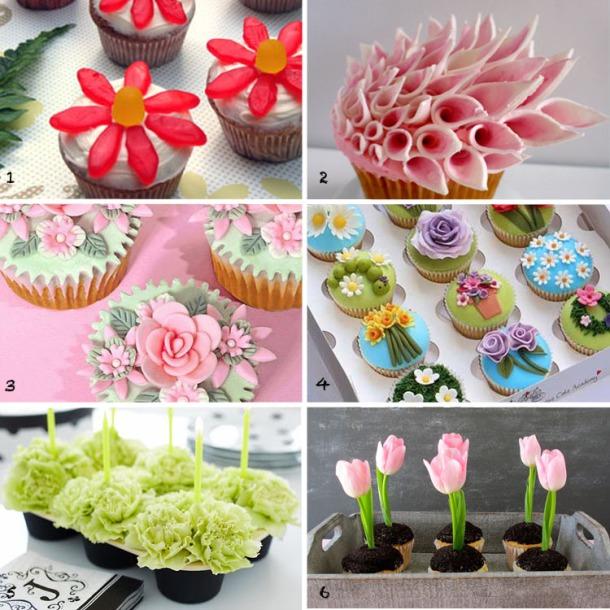 Floral Cupcakes 1JUN2014